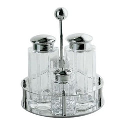 Alessi - Alessi | MG05 Condiment Set - Design by Michael Graves, 1994.