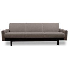 Modern Sofas Paddington Grey-Brown 3-Seat Couch