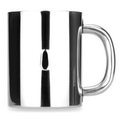 Berghoff - BergHOFF Stainless Steel Coffee Mug - Enjoy your favorite brew piping hot without worrying about getting scalded with this double wall vacuum insulated coffee mug.
