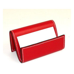 Bey-Berk - Bey-Berk D1614 Business Card Holder - Red Leather - D1614 - Shop for Business Card Desktop Holders from Hayneedle.com! About Bey-Berk InternationalFor more than 20 years Bey-Berk International has crafted and hand-selected unique gifts and accessories from around the world to meet the demands of discerning customers. With its line of elegant and distinctive products Bey-Berk has established itself as a leader in luxury accessories.