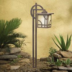Kichler - Kichler Larkin Estate Outdoor Landscape Lighting Fixture in Olde Bronze - Shown in picture: Path Light in Olde Bronze