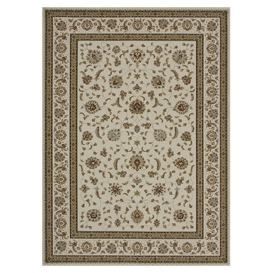 Loloi Rugs - Loloi Rugs WELBWL-05IVIV3A57 Welbourne Ivory-Ivory Traditional Border Rug - The Welbourne collection features a more traditional design with up-to-date colors and styles. Most notably, its densely woven construction contributes to the superior quality of this new power-loomed collection. There is a variety of sizes and color combinations available.