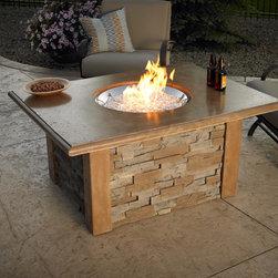 Sierra Fire Pit Table - Photo By Gamut 1 Studios