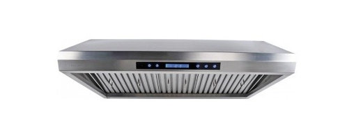 """Cavaliere - Cavaliere AP238-PS65 Under Cabinet Range Hood - 36"""" - Cavaliere Stainless Steel 260W Under Cabinet Range Hoods with 4 Speeds, Timer Function, LCD Keypad, Stainless Steel Baffle Filters, and Halogen Lights."""