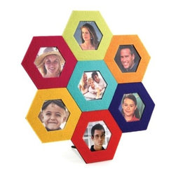 Kito - Colorful Magnetic Durable Metal Frame Hexagonal Picture Frames - This gorgeous Colorful Magnetic Durable Metal Frame Hexagonal Picture Frames has the finest details and highest quality you will find anywhere! Colorful Magnetic Durable Metal Frame Hexagonal Picture Frames is truly remarkable.