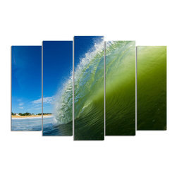 Ready2HangArt - Ready2hangart Nicola Lugo 'Inside View' Canvas Wall Art - Renowned Surf Photographer Nicola Lugo, takes you behind the lens of his travels worldwide. This photograph is offered as part of a limited 'Home Decor' line, being the perfect addition to any living or work space.