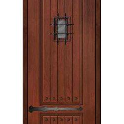 """External Single Door 96 Fiberglass Rustic 2 Panel V-Grooved 6266 - SKU#SBC30962PRSERCBrandGlassCraftDoor TypeExteriorManufacturer CollectionSolid Panel Entry DoorsDoor ModelDoor MaterialFiberglassWoodgrainVeneerPrice1730Door Size Options  +$percent  +$percentCore TypeDoor StyleDoor Lite StyleDoor Panel Style2 Panel , V-GroovedHome Style MatchingRusticDoor ConstructionPrehanging OptionsSlab , Prehung , ImpactPrehung ConfigurationSingle DoorDoor Thickness (Inches)1.75Glass Thickness (Inches)Glass TypeGlass CamingGlass FeaturesGlass StyleGlass TextureWater , Flemish , Baroque , Fluted , Rain , Glue Chip , ClearGlass ObscurityModerate Obscurity , Light Obscurity , Highest Obscurity , High Obscurity , No ObscurityDoor FeaturesDoor ApprovalsEnergy Star , TCEQ , Wind-load Rated , AMD , NFRC-IG , IRC , NFRC-Safety GlassDoor FinishesDoor AccessoriesSpeakeasy , Clavos , StrapsWeight (lbs)295.2Crating Size25"""" (w)x 108"""" (l)x 52"""" (h)Lead TimeSlab Doors: 7 Business DaysPrehung:14 Business DaysPrefinished, PreHung:21 Business DaysWarrantyFive (5) years limited warranty for the Fiberglass FinishThree (3) years limited warranty for MasterGrain Door Panel"""
