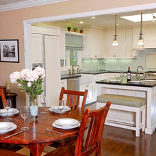 Contemporary Kitchen Islands And Kitchen Carts by Hughes Construction, Inc