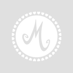 Monogram Nursery Wall Decal Letter in White