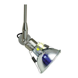 Cam Low Voltage Head - Clean-lined minimal head rotates 360° around stem, pivots 340°. Choose from multiple stem lengths.