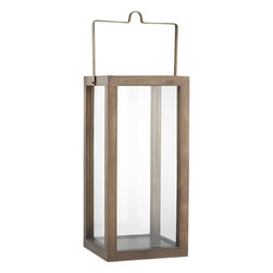 Prescott Lantern - Complete with clean lines and an unfettered view, this lantern is anything but boring. Whether it is hanging or standing free, you'll be pleased with your timeless purchase.