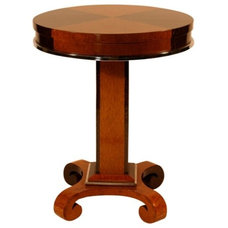 Contemporary Side Tables And End Tables 1930s French Art Deco Macassar and Maple Side Table