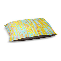 DiaNoche Designs - Dog Pet Bed Fleece - Correlation I - The comfort of your pet is of the utmost importance. But shouldn't their furniture match yours? DiaNoche Designs gives your pet some clout with our stable of international artists designs on their new bed.