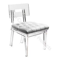 George II Chair - The George II Chair with tufted cushion.