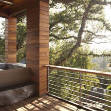 Sustainable Residence by SB Architects Nestled in the Hills of Mill Valley, Cali