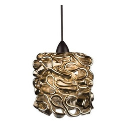 WAC Lighting - WAC Lighting QP544 Candy 50 Watt Halogen Quick Connect Pendant - Features: