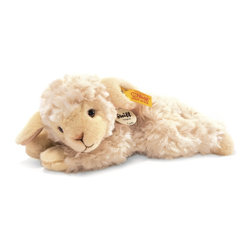 Steiff - Steiff Linda Lamb - Steiff's Little Friends are typical baby animals in the original Steiff quality - they are all offered in the attractive, affordable price category. With lifelike design, made of soft cuddly woven fur.