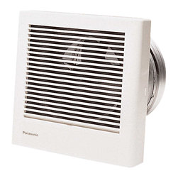 Panasonic - Panasonic Whisperwall 70 Cfm Wall Mounted Ventilation Fan (Fv-08Wq1) - Panasonic FV-08WQ1 WhisperWall 70 CFM Wall Mounted Ventilation Fan