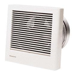 Panasonic - Panasonic Whisperwall 70 Cfm Wall Mounted Ventilation Fan (Fv-08Wq1) - Panasonic FV-08WQ1 WhisperWall 70 CFM Wall Mounted Ventilation Fan