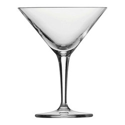 Schott Zwiesel - Schott Zwiesel CS Basic Bar Classic Martini Glasses - Set of 6 - 0029.115838 - Shop for Drinkware from Hayneedle.com! Sleek and stylish nothing is more elegant and sophisticated than a martini - and the Schott Zwiesel CS Basic Bar Classic Martini Glasses - Set of 6 is the perfect set of glasses to hold your finest concoctions. The amazing beauty of the mouth-blown Tritan crystal glass shows that you're serving up something special.About Fortessa Inc.You have Fortessa Inc. to thank for the crossover of professional tableware to the consumer market. No longer is classic high-quality tableware the sole domain of fancy restaurants only. By utilizing cutting edge technology to pioneer advanced compositions as well as reinventing traditional bone china Fortessa has paved the way to dominance in the global tableware industry.Founded in 1993 as the Great American Trading Company Inc. the company expanded its offerings to include dinnerware flatware glassware and tabletop accessories becoming a total table operation. In 2000 the company consolidated its offerings under the Fortessa name. With main headquarters in Sterling Virginia Fortessa also operates internationally and can be found wherever fine dining is appreciated. Make sure your home is one of those places by exploring Fortessa's innovative collections.