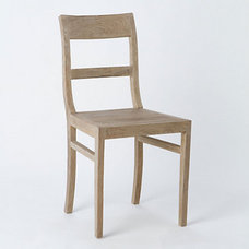 traditional dining chairs by Terrain