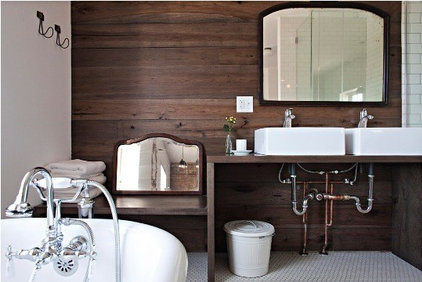 Vintage Meets Modern Bathrooms at Longman & Eagle | Apartment Therapy Chicago