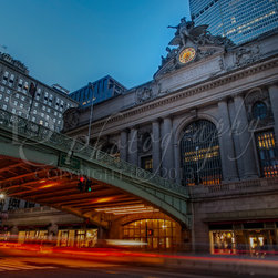 http://susan-candelario.artistwebsites.com/controlpanel/updateartwork.html?artwo - Grand Central Terminal  ~New York City's Pershing Square bridge, leading to the Grand Central Terminal Station.  ©Susan Candelario SDC Photography all rights reserved