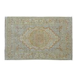 1800-Get-A-Rug - Stone Wash Hand Knotted Rug 200 Kpsi Tabriz Oriental Rug Sh9059 - About Fine Oriental