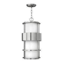Hinkley Lighting - Hinkley Lighting 1902SS Saturn Stainless Steel Outdoor Hanging Lantern - Hinkley Lighting 1902SS Saturn Stainless Steel Outdoor Hanging Lantern