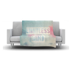 "Kess InHouse - Ingrid Beddoes ""Limitless Mind"" Clouds Blue Fleece Blanket (30"" x 40"") - Now you can be warm AND cool, which isn't possible with a snuggie. This completely custom and one-of-a-kind Kess InHouse Fleece Throw Blanket is the perfect accent to your couch! This fleece will add so much flare draped on your sofa or draped on you. Also this fleece actually loves being washed, as it's machine washable with no image fading."