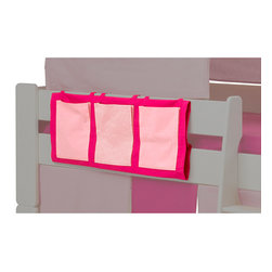 Popsicle - Popsicle Pink Play Pockets - Add a splash of color to your child's room with the Popsicle Play Pockets. The play pockets provide convenient bedside storage and can be used with any of the Popsicle beds.