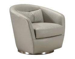 Thayer Coggin | Turn Swivel Chair -