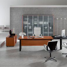 Modern Filing Cabinets And Carts Kim Executive File Cabinet With Glass Door