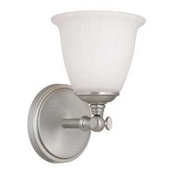 Savoy House - Savoy House 8-6830-1 Bradford One Light Bathroom Fixture - Features:
