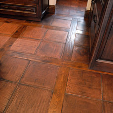 mediterranean floor tiles by Lisa Joyce Design