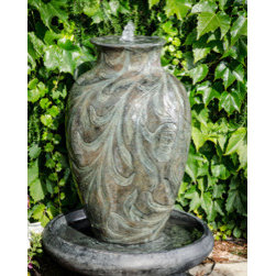 Bond Manufacturing - Brielle Fountain - Ultimately modern and classic at the same time. With subtle water flow and intricate design this water fountain is as mesmerizing as it is beautiful.