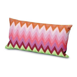 Missoni Home - Missoni Home | Osborne Pillow 12x24 - Design by Rosita Missoni.