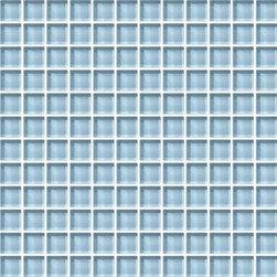 Daltile Color Wave Glass - CW13 Blue Lagoon - 1X1 - Daltile Color Wave Glass Collection
