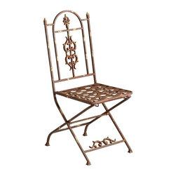 Cyan Design - Cyan Design Hayden Accent Chair in Autumn Rust - Hayden Accent Chair in Autumn Rust