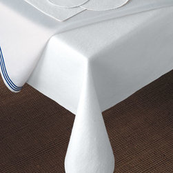 "Matouk - Matouk 59"" x 154"" Oblong Table Pad - This convenient cotton/polyester pad provides lightweight, affordable protection for your fine dining tables while enhancing the beauty of any tablecloth. Choose from a variety of sizes below. Made in the USA. From Matouk."