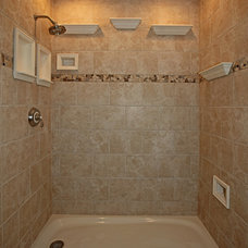 traditional tile by Bathroom Tile Shower Shelves