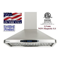 XtremeAIR - XtremeAIR 30 Inch Wall Mount Stainless Steel Range Hood PX02-W30 - XtremeAIR 30 Inch Wall Mount Range Hood with 900 CFM Dual Blower, Low Profile Radius Corner Design, Stainless Steel Baffle Filters, Stainless Steel Oil CaptureTunnel, 4 Speed Heat Touch Sensitive Electronic Control with Big LCD Display, Energy Efficient LED Lighting System. Designed, engineered, and assembled in the USA.