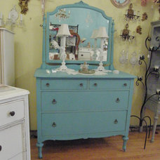 Eclectic Dressers by Donna Thomas Vintage Chic Furniture