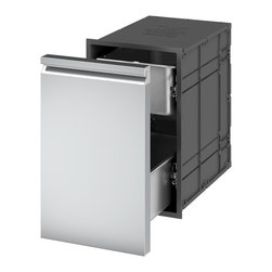 Ronda Distributed by Evo, Inc. - Ronda Insulated Double Drawer Unit with Single Front - Thanks to the insulating system, the magnetic seal and the use of specially designed and patented materials, The Ronda Insulated Single Drawer is able to keep the temperature as long as you need. The magnetic seal avoids dust and unwelcome intruders.