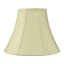 Home Concept - Egg Shell Shantung Bell Lampshade 6x12x9.5 - Why Upgrade to Home Concept Signature Shades?