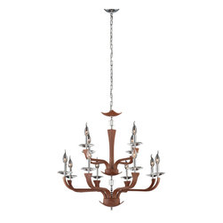 Eurofase - Eurofase 22807-021 Pella 12 Light Chandelier - Eurofase 22807-021 Pella 12 Light Chandelier