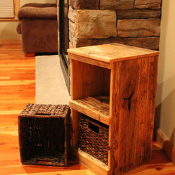 Rustic Storage Bins by Big Sky Rustics