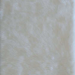 Loloi Rugs - Loloi Rugs Danso Ivory Shag Rug X-050300VI40-ADSNAD - Chic safari animal prints are reinterpreted into ultra soft faux fur rugs in the Danso Collection. Made in China of 100% poly-acrylic, Danso's rich solids or cheetah, zebra, and tiger patterns are available in trend right colors that set these rugs ahead of the pack.