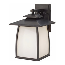"Murray Feiss Lighting - Murray Feiss Lighting-OL8502ORB-Wright House - One Light Outdoor Lantern Wall Br - *Overall Dimensions: H- 13.875"" W- 9"" E- 10.438"" BP- 7.875x4.75"""