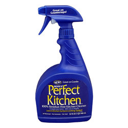 Hope - Hope Home Appliance Perfect Kitchen Cleaning Spray - 32 Oz - 4 Pack - Packed with more cleaning power than other all-surface cleaners, Perfect Kitchen effectively cleans surfaces throughout the house without the streaks and film left by the competition. Great for all surfaces including stone, laminate, metal, tile, and glass. Perfect Kitchen effectively cleans surfaces throughout the house without the streaks and film. . Great for all surfaces including stone, laminate, metal, tile, and glass. . 100% Residue-Free Kitchen Cleaner . No ammonia and No acid . Keep out of reach of children .